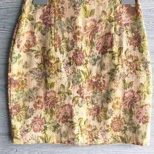 Floral Spring Tapestry Skirt | 12